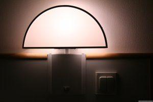 model kamar tidur dengan lighting