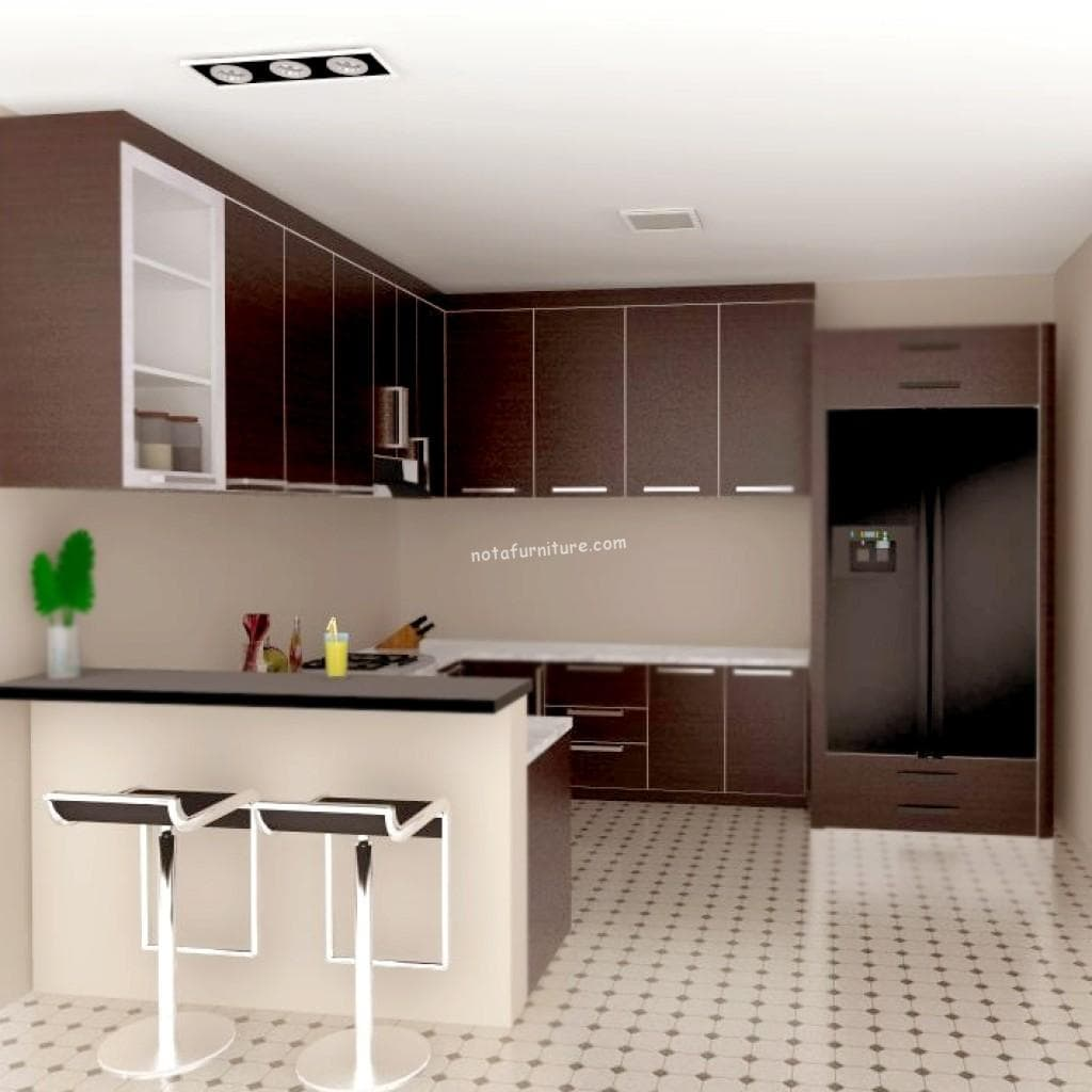 Jual kitchen set minimalis murah for Kitchen set tangerang