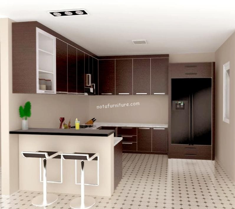 kitchen set furniture kitchen set fungsi lebih dinamis nota furniture 13776