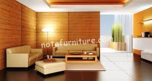 Unsur kayu Memberi Suasana Kehangatan Rumah