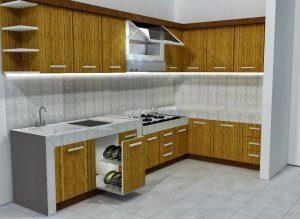 bahan dapur minimalis
