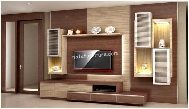 model furniture rak tv minimalis