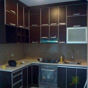 dapur set minimalis