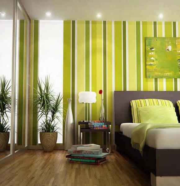 wallpaper motif garis