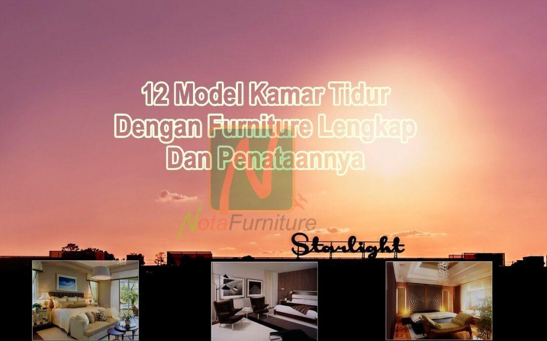 12 Model Kamar Tidur Dengan Furniture Lengkap Dan Penataannya