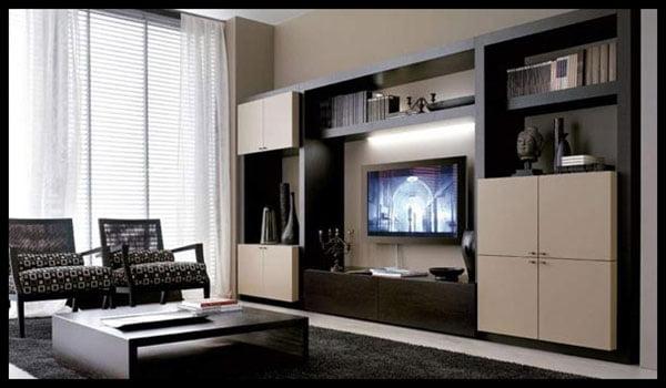 Rak tv apartemen