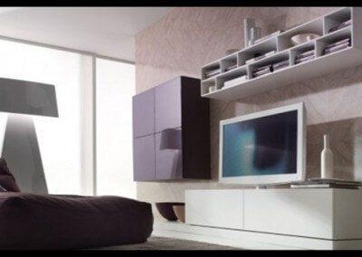 rak tv minimalis sederhana