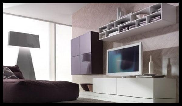 Rak tv untuk ruang sempit