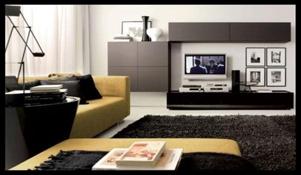 Rak tv minimalis untuk ruang keluarga