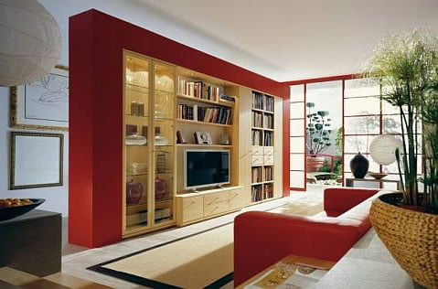 Membuat Furniture Rak TV Cara Costum