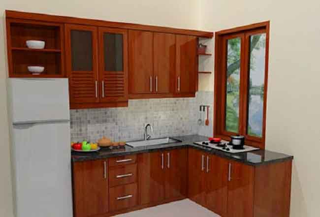 Interior Rumah – Membuat Dapur Mungil nan Cantik