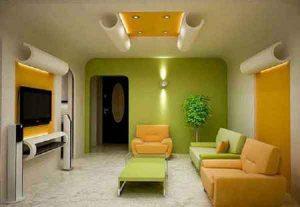 model Desain interior rumah sederhana