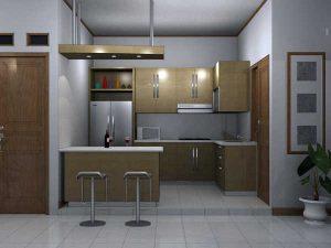 desain interior dapur modern
