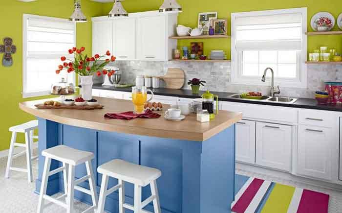 peralatan dapur mungil sederhana