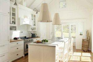 tips memilih cat untuk dapur minimalis putih