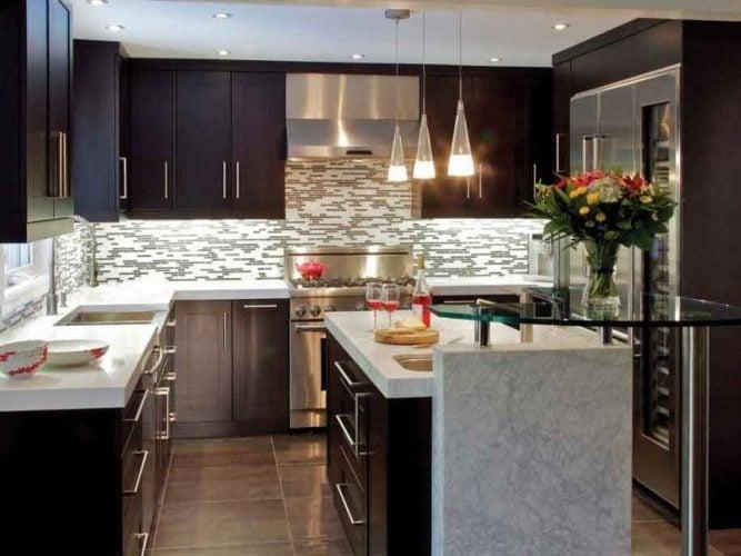 tips memilih cat untuk dapur minimalis warna elegan