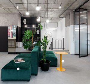 lighting interior ruang kantor