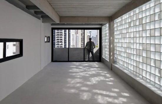 sistem pencahayaan alami menggunakan glass block
